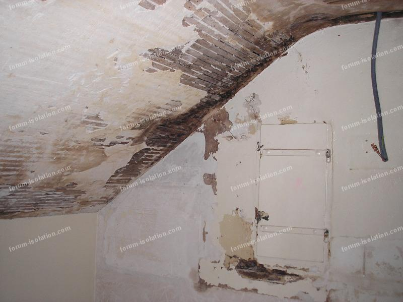 Bricolage forum isolation comment isoler un plafond for Peindre un plafond en lambris