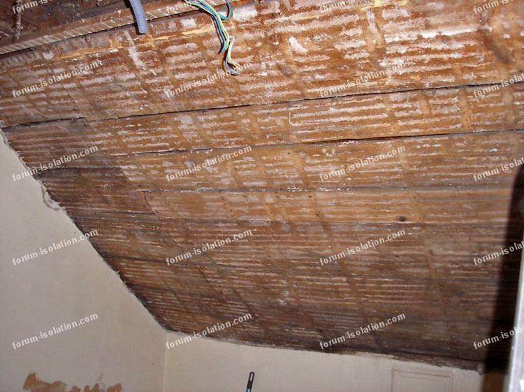 bricolage plafond