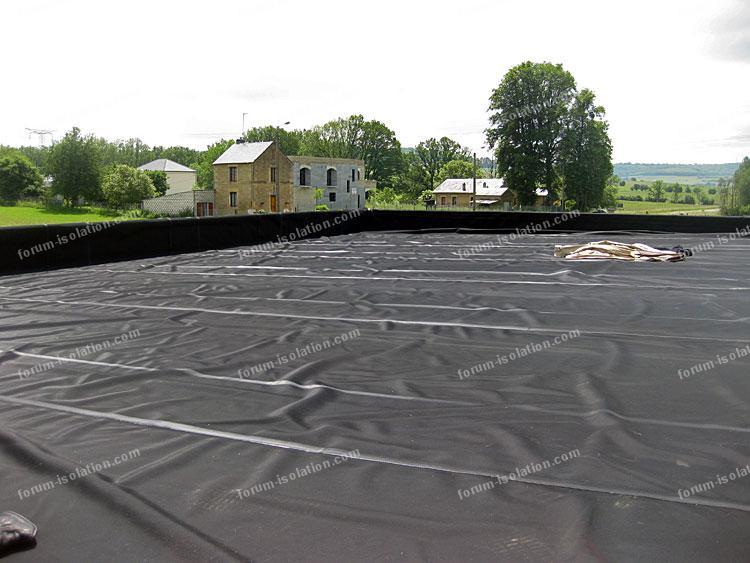 etancheite toit terrasse membrane