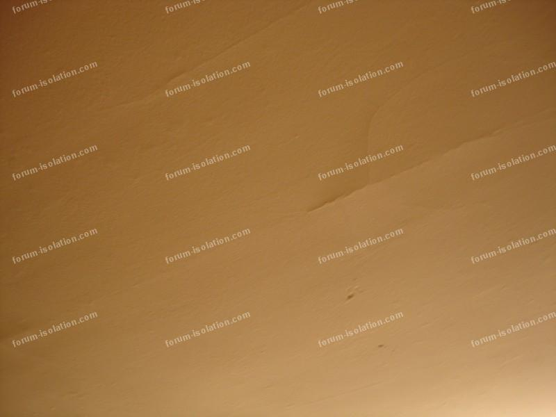 Questions isolation maison conseils des murs - Reboucher des fissures au plafond ...