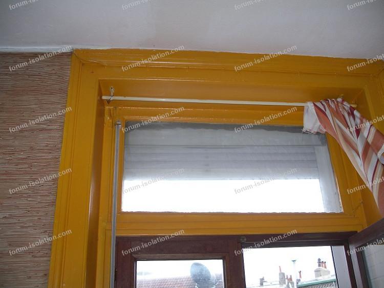 isolation imposte fenêtres