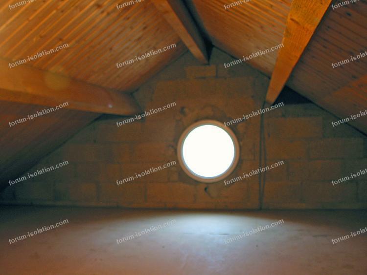 isolation murs pignons
