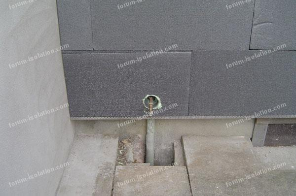 robinet extérieur isolation