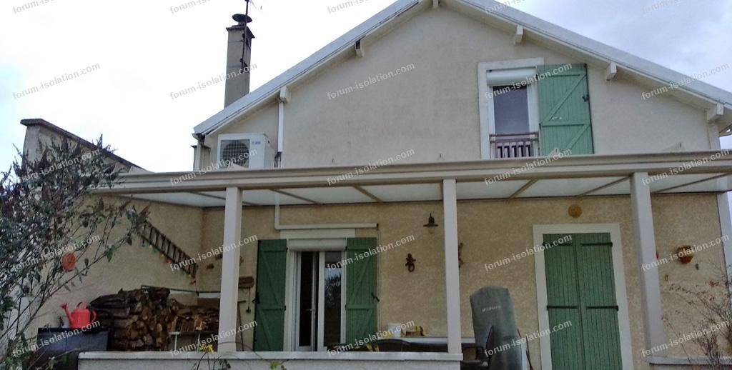 isolation thermique toiture pergola