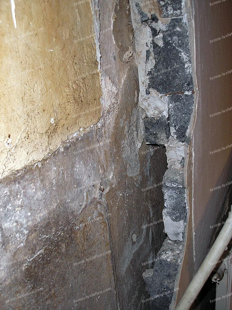 travaux doublage mur cuisine