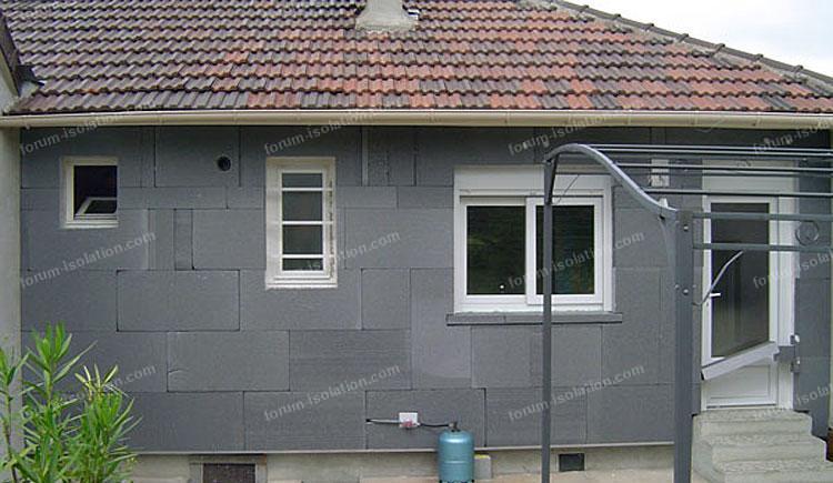 travaux isolation maison par l'extérieur